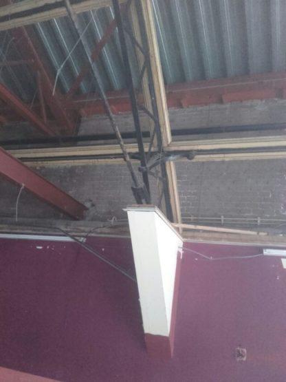 stalen trappenhuis verwijderen