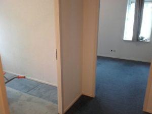 slaapkamer tapijt verwijderen