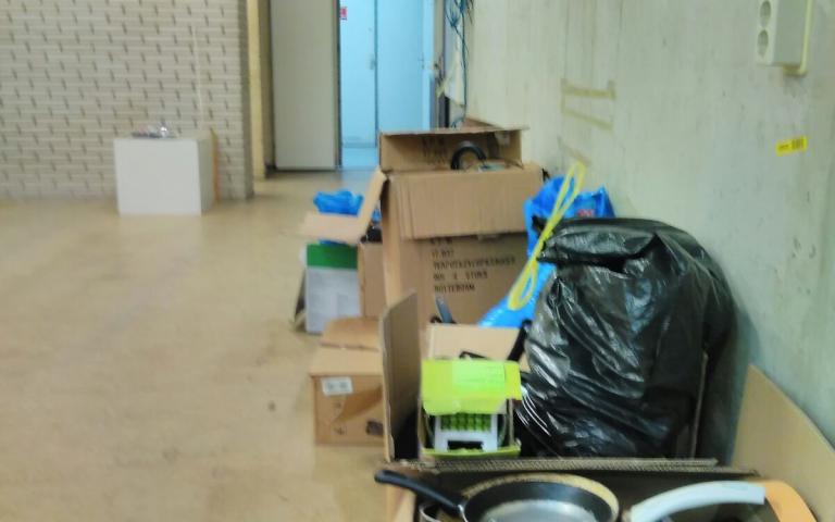 cookery winkel ontruimen