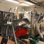 opslagruimte ontruimen bedrijfsruimte