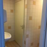 sanitaire ruimtes verwijderen