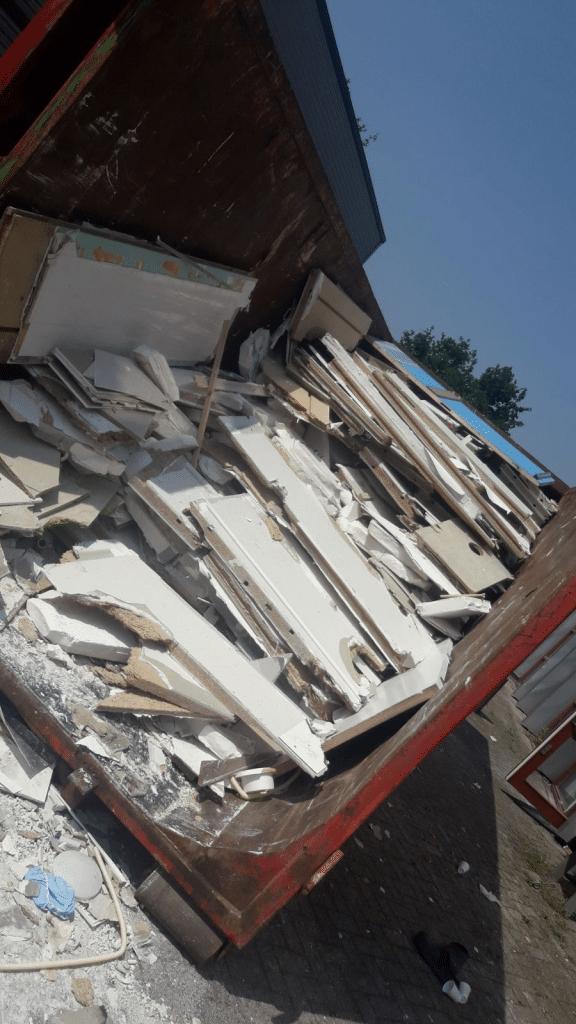 afval afvoeren sloopbedrijf